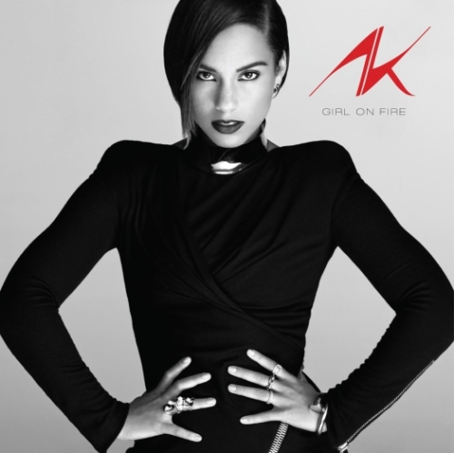 capa alicia keys girl on fire
