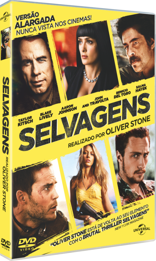 capa oliver stone selvagens
