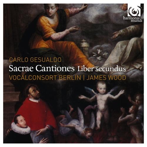capa carlo gesualdo sacrae cantiones liber secundus