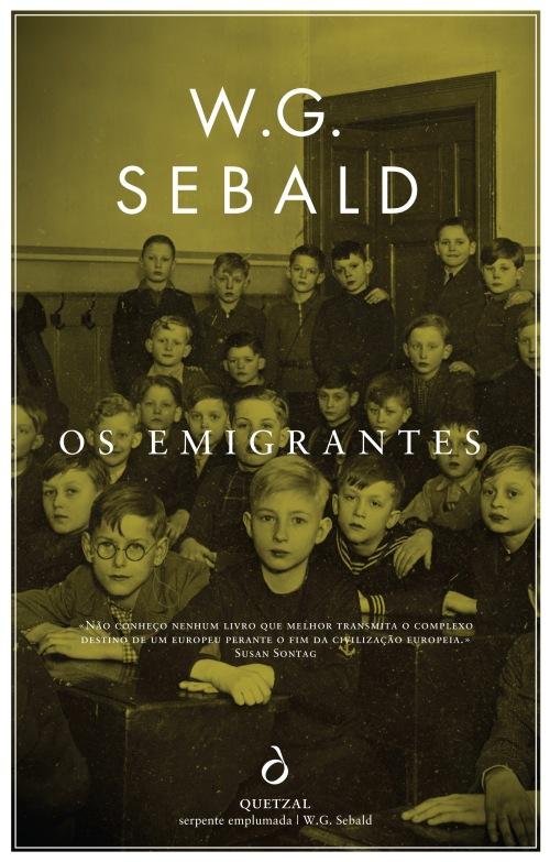 capa w g sebald os emigrantes