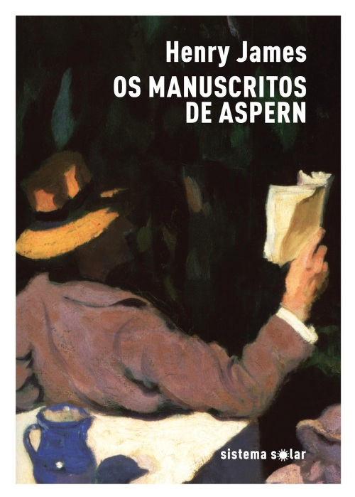 capa henry james os manuscritos de aspern